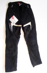 Textilní dámské letní kalhoty DUHAN - vel. M/38, pas: 74 cm