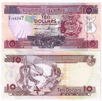 Šalamounovy ostrovy 10 dol P-27 2005 UNC C/8