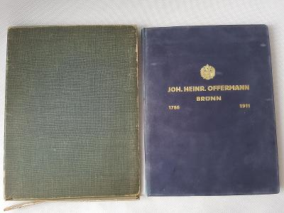 Monografie vlnařská továrna Offermann Brno 1911 RU Vojenské uniformy