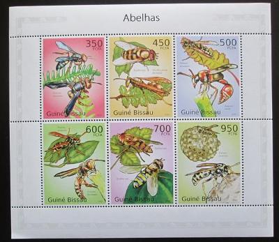 Guinea-Bissau 2010 Včely Mi# 5057-62 Kat 14€ 2460