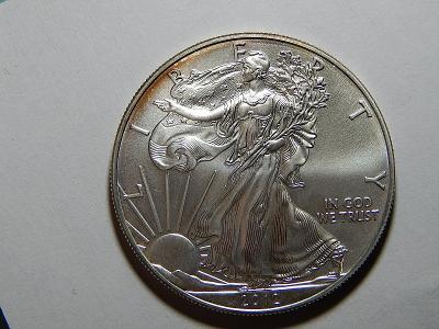 USA 1 Dollar 2012 Silver Eagle Ag 1 OZ UNC č36036
