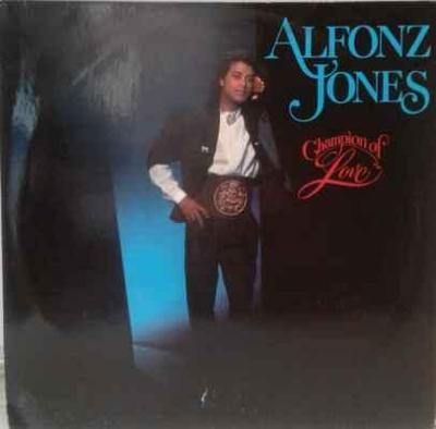 LP Alfonz Jones - Champion Of Love, 1988 EX