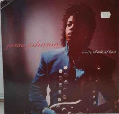 LP Jesse Johnson - Every Shade Of Love, 1988 EX