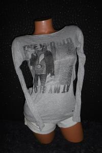 Esprit krásné příjemné dámské basic triko tričko s potiskem S