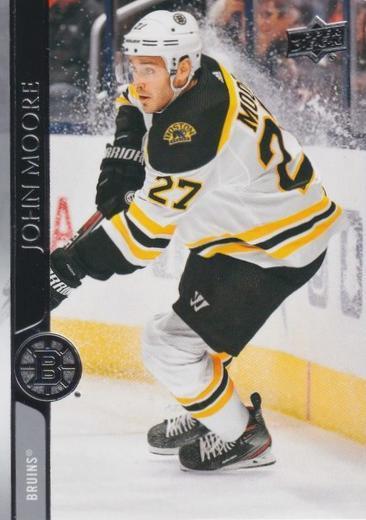 John Moore - Boston Bruins - UD Series 1