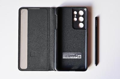 Samsung Flipové pouzdro Clear View s perem S Pen pro Galaxy S21 Ultra