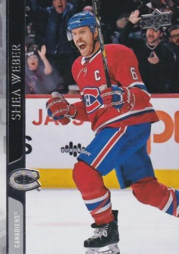 Shea Weber - Montreal Canadiens - UD Series 1