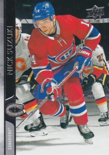 Nick Suzuki - Montreal Canadiens - UD Series 1