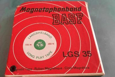 BASF LGS 35 135m Magnetic tape, Long play. Kotoučovy Pásek