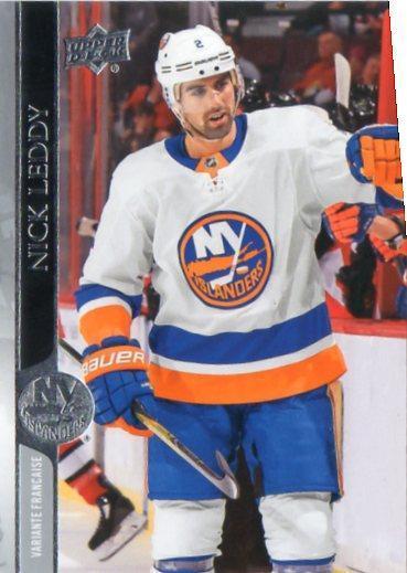 Nick Leddy - New York Islanders - UD Series 1 - French