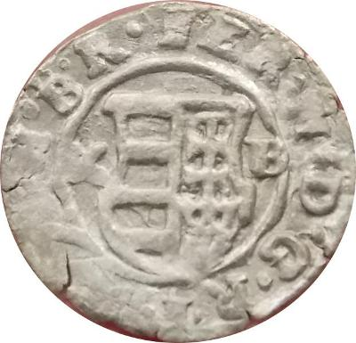 Ferdinand II. 1638 K.B denár