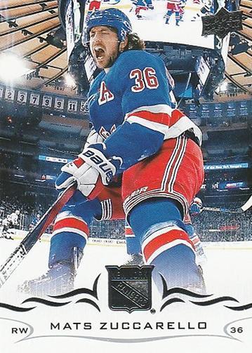 Mats Zuccarello - New York Rangers - UD Series 1