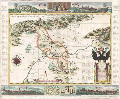 Schenck P.:  Toeplitz, kolor. mědiryt, 1757