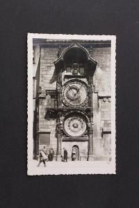 Pohlednice Prag. - Astrnomische Uhr Praha Orloj