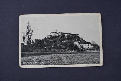 Pohlednice Mukačevo hrad