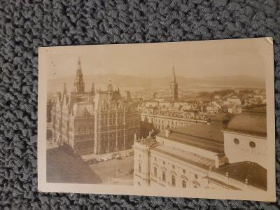 Stará pohlednice, Liberec, prošlá