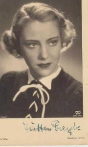 Portrét Jutta Freybe