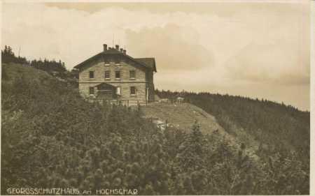 Jeseníky- Šerák (Hochschar)- chata Jiřího