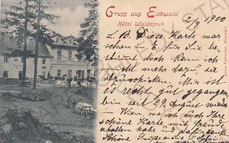 Eichwald Dubí hotel DA