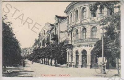 Františkovy Lázně (Franzensbad), Parkstrasse