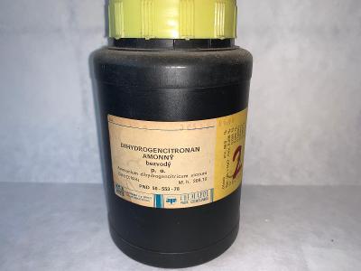 Dihydrogencitronan amonný bezvodý p.a. (99,5%, C6H7NaO7, 500g)