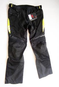 Textilní kalhoty letní MOTOBOY- vel. 3XL/58, pas: 90 cm