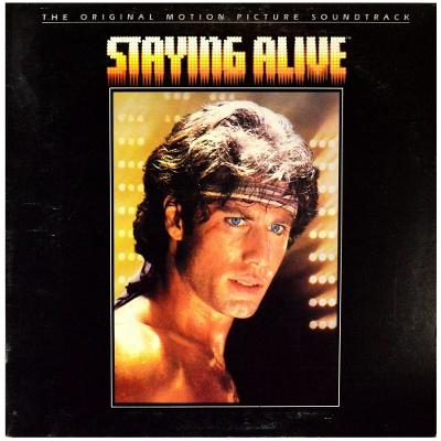 Gramofonová deska BEE GEES - Staying alive (The original motion pictur