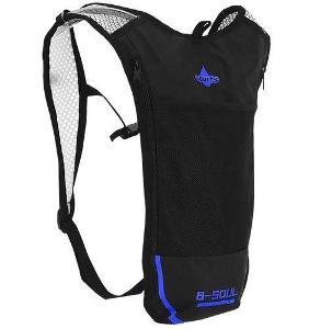 Ultralehký sportovní batoh modrý + dárek