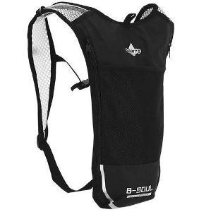 Ultralehký sportovní batoh černý + dárek