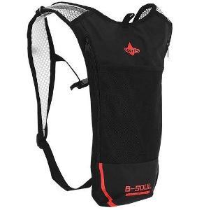 Ultralehký sportovní batoh červený + dárek