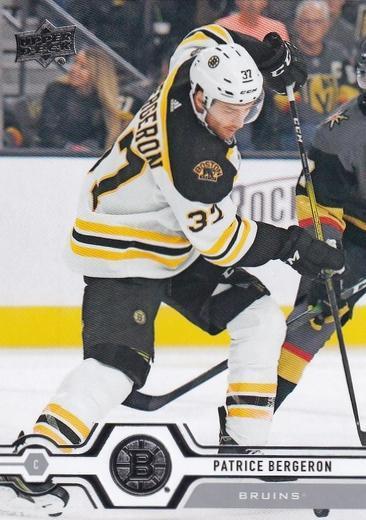 Patrice Bergeron - Boston Bruins - UD Series 2