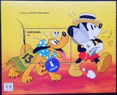 Disney Grenada dětské, 1ks aršík