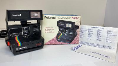 Fotoaparát POLAROID 635CL Supercolor. Funkčnost neznáma. Pro sběratele