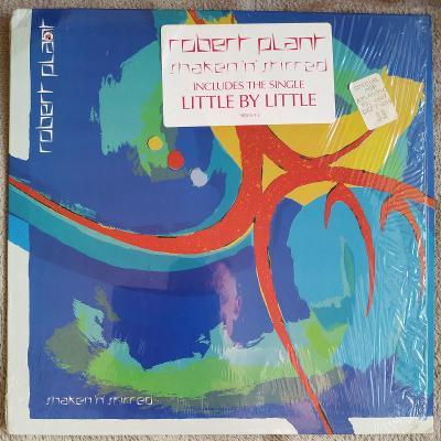 LP ROBERT PLANT - SHAKEN´N´ STIRRED(1985) USA Press EX++. TOP STAV!