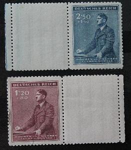 Protektorát , Hitler / Známky    (3a)