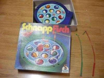 Stará dětská německá hra SCHNAPP FISCH (Schmidt Spiele)