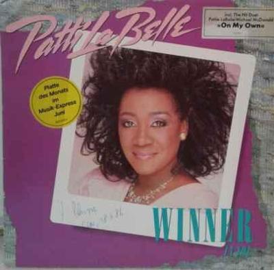 LP Patti LaBelle - Winner In You, 1986 EX
