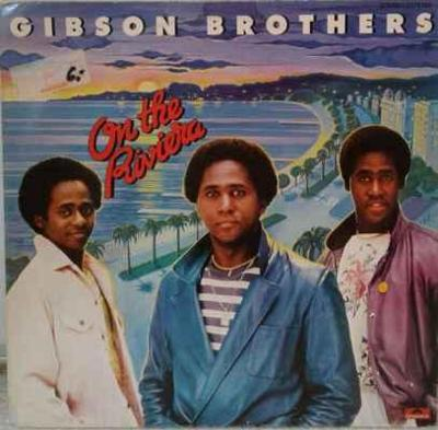 LP Gibson Brothers - On The Riviera, 1980 EX