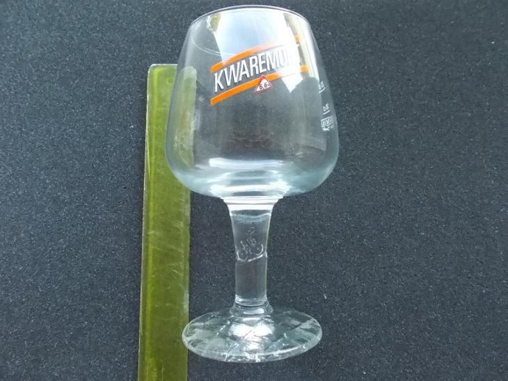 Stará sklenice pivo dekorativní perfektní dnes již jiné logo ojedinělá - Nápojový průmysl
