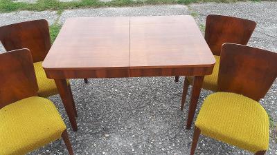 komplet J.HALABALA   4x židle a stůl