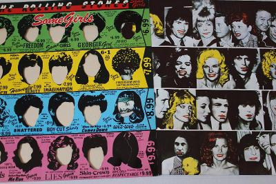 The Rolling Stones Some Girls LP 1978 vinyl Germany 1.press jako nove
