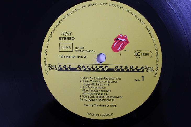 The Rolling Stones Some Girls LP 1978 vinyl Germany 1.press jako nove - Hudba