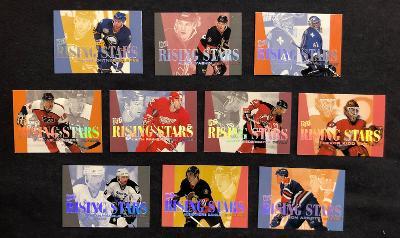 Kompletní set Fleer Ultra 1995-96 Rising Stars