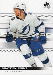 Brayden Point - Tampa Bay Lightning - UD SP Authentic