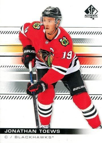 Jonathan Toews - Chicago Blackhawks - UD SP Authentic