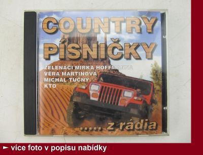 COUNTRY PÍSNIČKY CD - Zelenáči Martinová Tučný KTO
