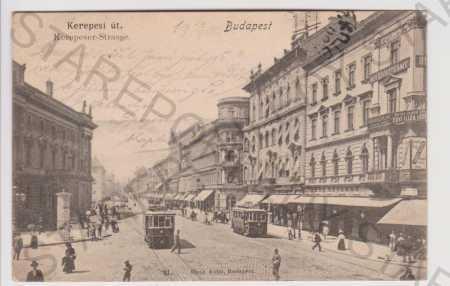 Maďarsko, Budapešť, DA, tramvaje