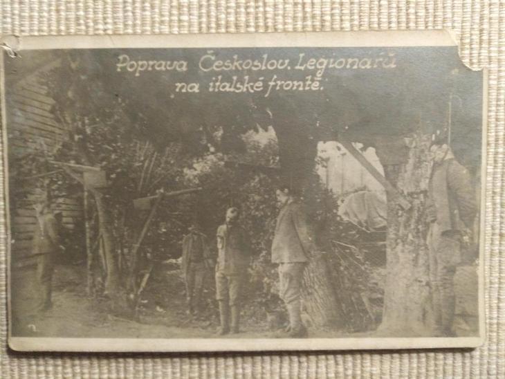 Poprava Českoslov. Legionářů na italské frontě  - Vojenské