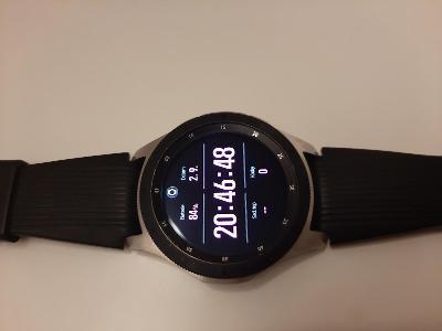 Samsung Galaxy Watch, 46mm, stříbrné