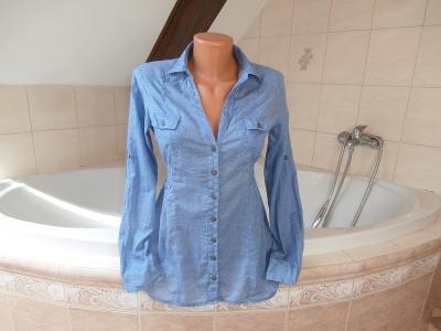 krásná, dámská košile zn. Tally Weijl, 34 (S),  Sleva!